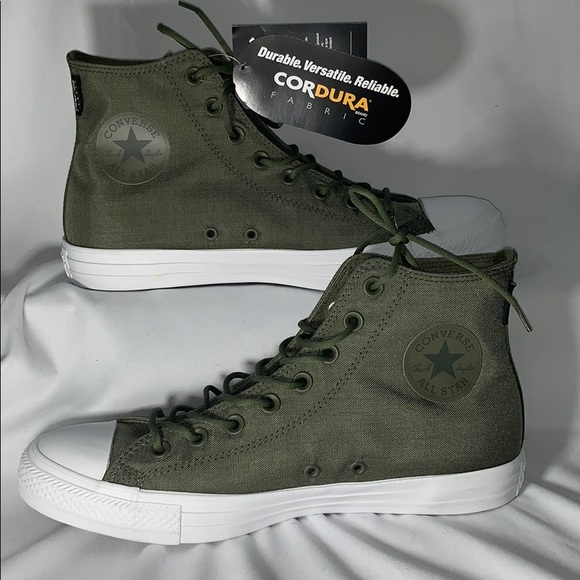 Converse All Star Olive Green size Men's 9 W 11 NWT